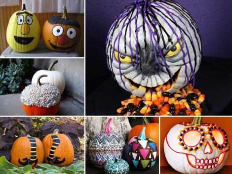 Creative pumpkins...