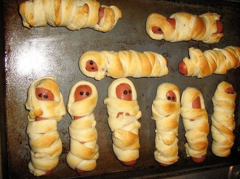 Another gruesome snack idea...lol